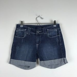 Vigoss Studio Short Factory Distressed Jean Shorts